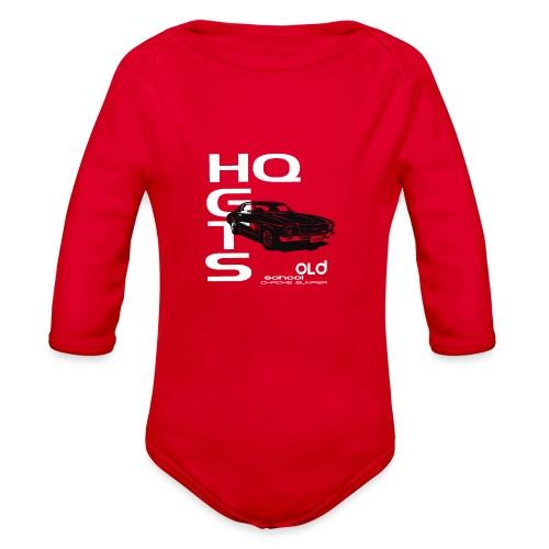 HQ TOWER - Organic Long Sleeve Baby Bodysuit
