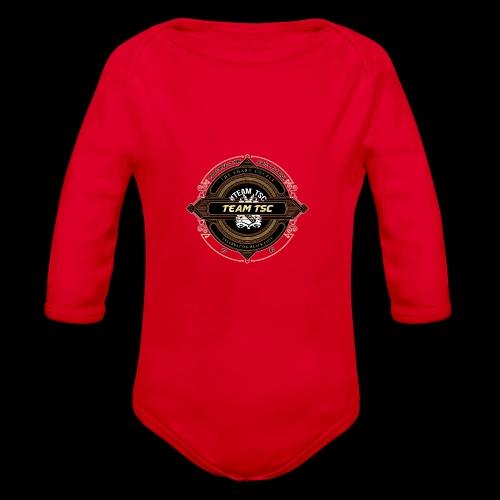 Design 9 - Organic Long Sleeve Baby Bodysuit