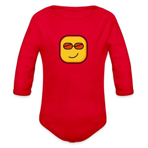 Lovely - Organic Long Sleeve Baby Bodysuit