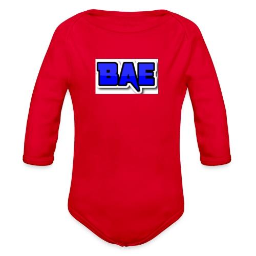 Bae boy shorts - Organic Long Sleeve Baby Bodysuit