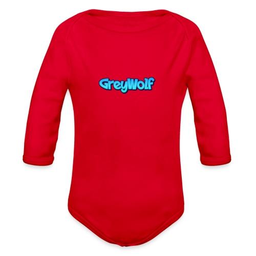 TEXT of GreyWolf - Organic Long Sleeve Baby Bodysuit