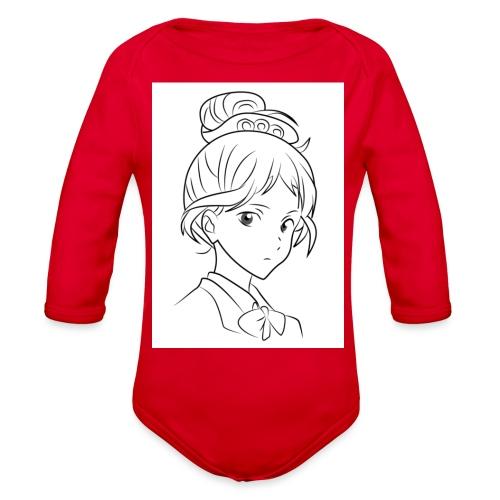 Girl - Organic Long Sleeve Baby Bodysuit