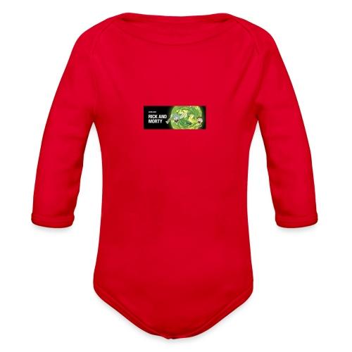 flippy - Organic Long Sleeve Baby Bodysuit