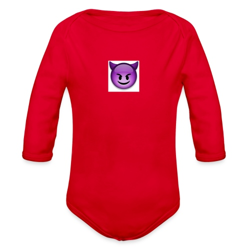 Logo - Organic Long Sleeve Baby Bodysuit