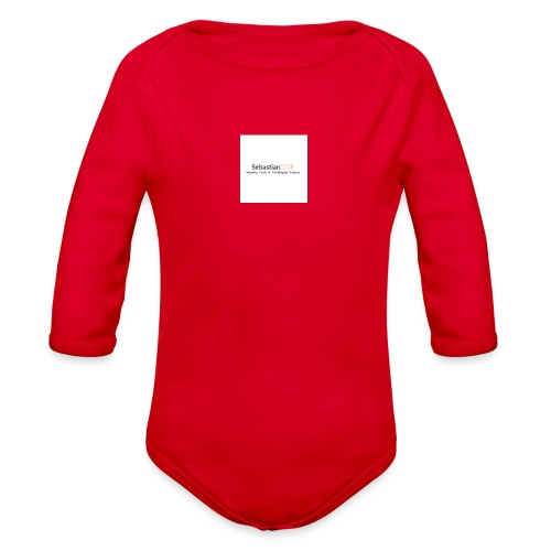 YouTube Channel - Organic Long Sleeve Baby Bodysuit