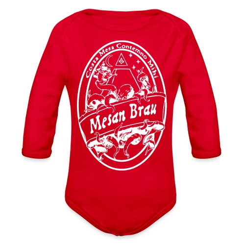 mesanbraucthsingle - Organic Long Sleeve Baby Bodysuit