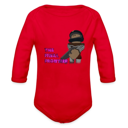 The Final Frontier Sports Items - Organic Long Sleeve Baby Bodysuit