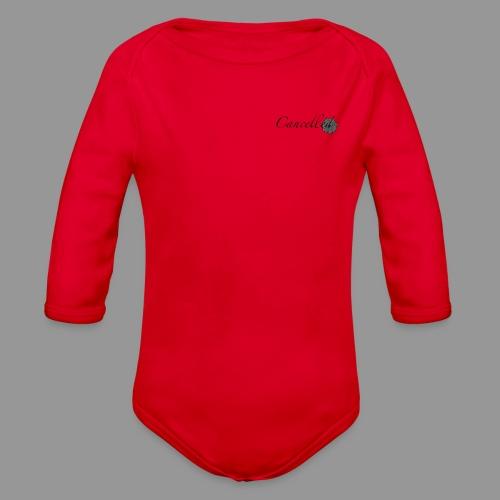 Cancelled - Organic Long Sleeve Baby Bodysuit