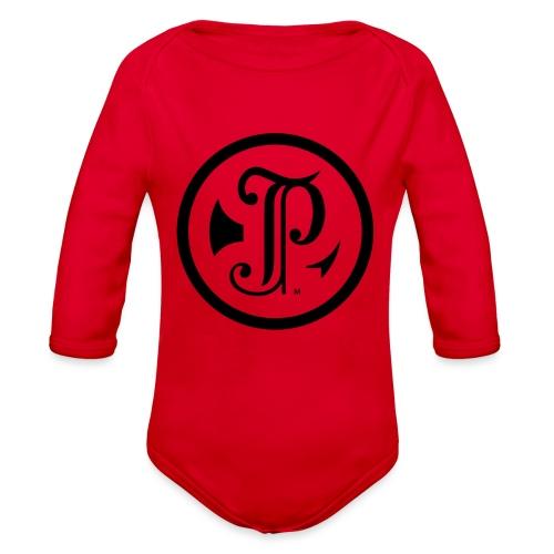 TP Logo - Organic Long Sleeve Baby Bodysuit