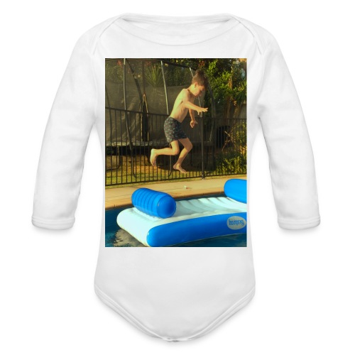 jump clothing - Organic Long Sleeve Baby Bodysuit