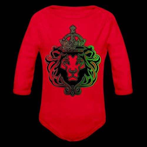RBG Lion - Organic Long Sleeve Baby Bodysuit