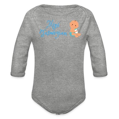 Boys Mini Taswegian - Organic Long Sleeve Baby Bodysuit