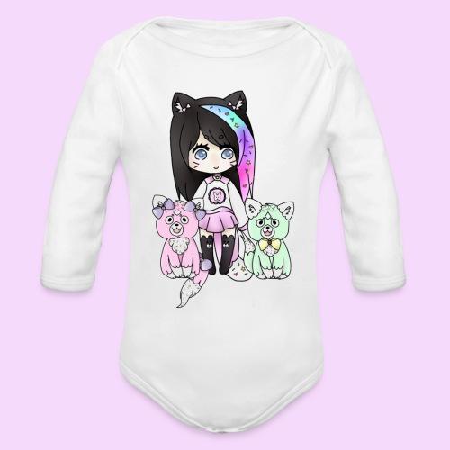 Lolipup Family! - Organic Long Sleeve Baby Bodysuit