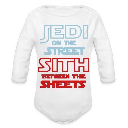Jedi Sith Awesome Shirt - Organic Long Sleeve Baby Bodysuit