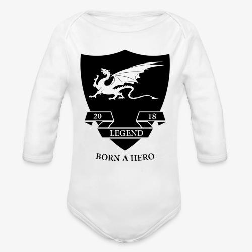 leged2018 - Organic Long Sleeve Baby Bodysuit