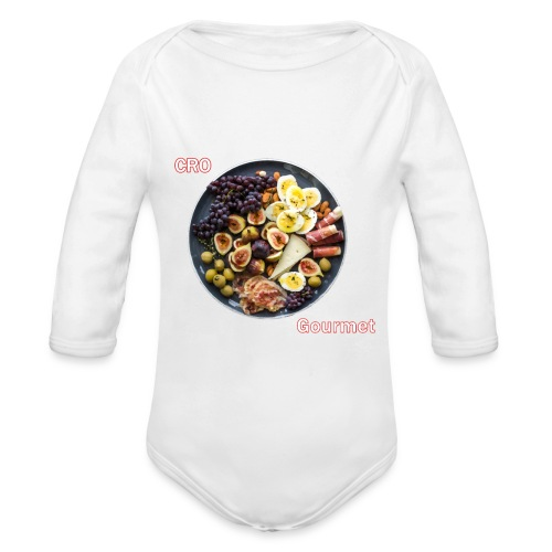 Croatian Gourmet - Organic Long Sleeve Baby Bodysuit