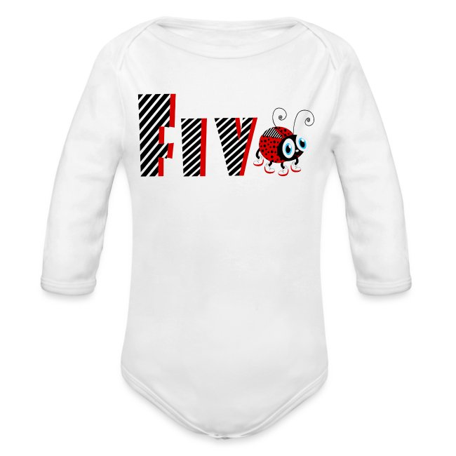 5nd Year Family Ladybug T-Shirts Gifts Daughter