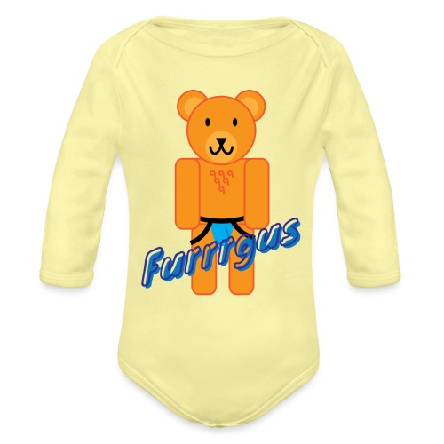 Furrrgus @ Underbear - Organic Long Sleeve Baby Bodysuit