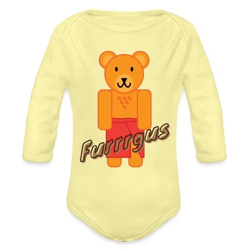 Presidential Suite Furrrgus - Organic Long Sleeve Baby Bodysuit