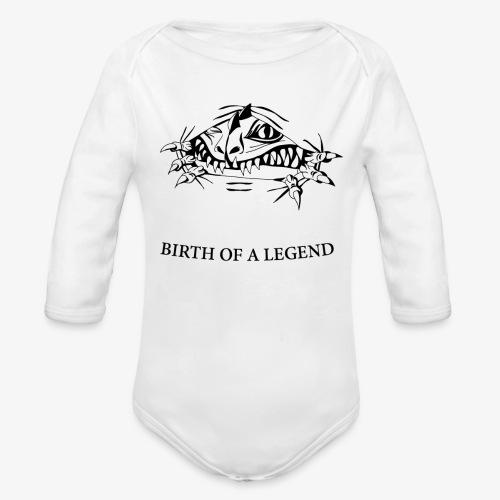 BIRTH - Organic Long Sleeve Baby Bodysuit