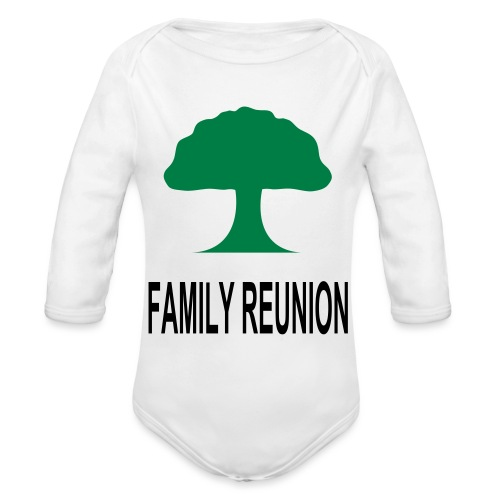 ***12% Rebate - See details!*** FAMILY REUNION add - Organic Long Sleeve Baby Bodysuit