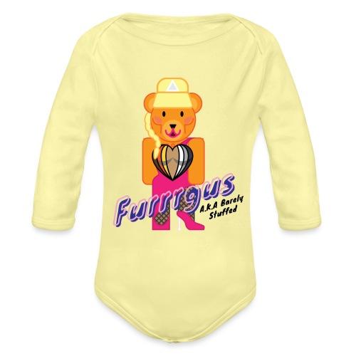 Barely Stuffed - Organic Long Sleeve Baby Bodysuit