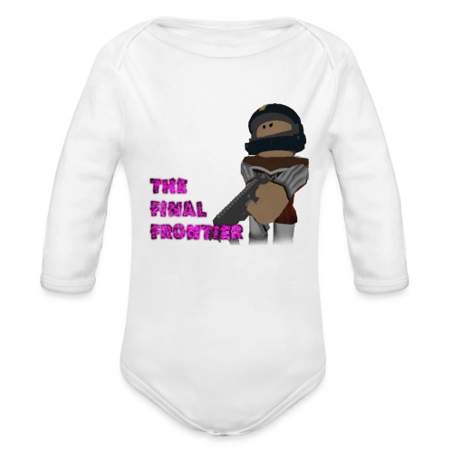 The Final Frontier - Organic Long Sleeve Baby Bodysuit