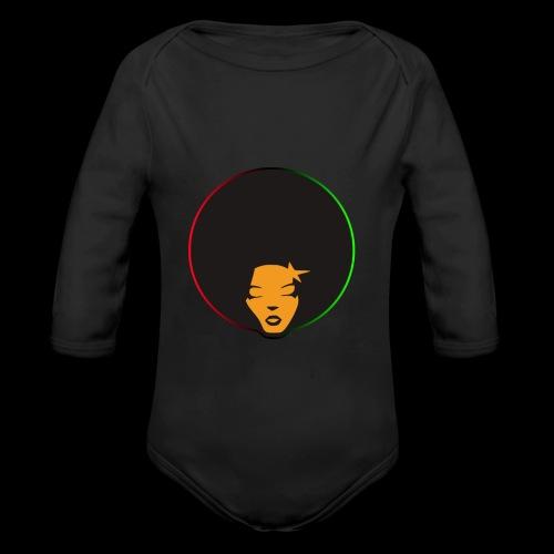 Afrostar - Organic Long Sleeve Baby Bodysuit