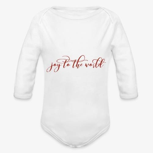 wordswag 1512070106979 - Organic Long Sleeve Baby Bodysuit
