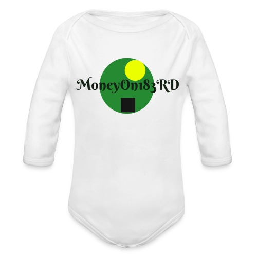 MoneyOn183rd - Organic Long Sleeve Baby Bodysuit