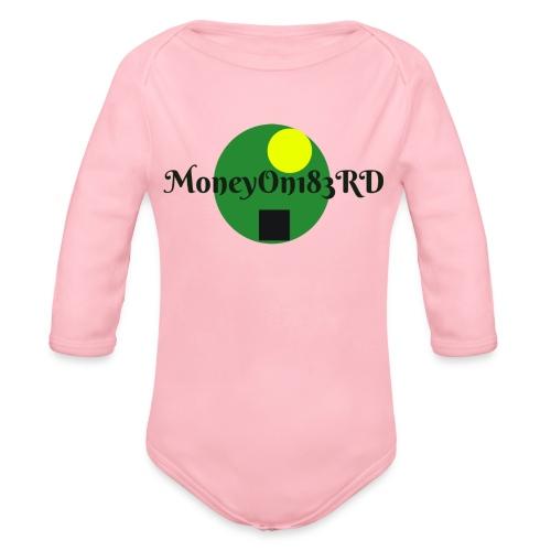 MoneyOn183rd - Organic Long Sleeve Baby Bodysuit