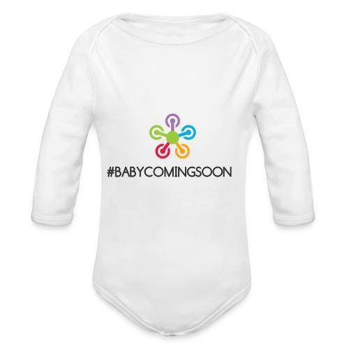 Baby coming soon - Organic Long Sleeve Baby Bodysuit