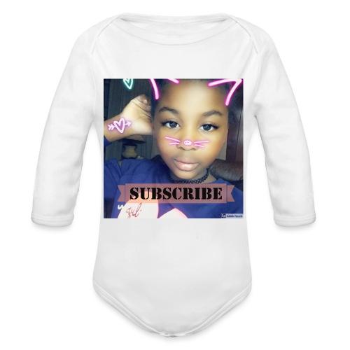 MemeDiy - Organic Long Sleeve Baby Bodysuit