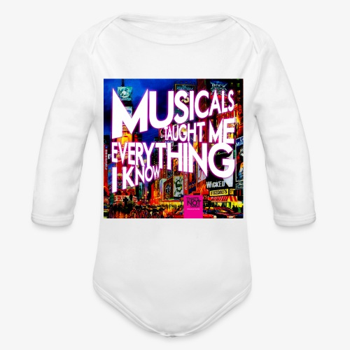 MTMEIK Cover - Organic Long Sleeve Baby Bodysuit
