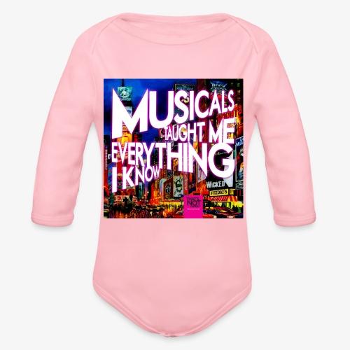 MTMEIK Cover - Organic Long Sleeve Baby Bodysuit