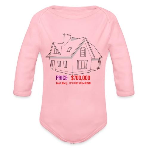 Fannie & Freddie Joke - Organic Long Sleeve Baby Bodysuit