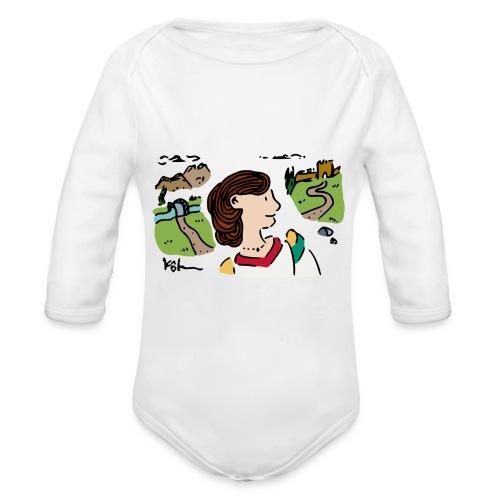 Italian Princess - Organic Long Sleeve Baby Bodysuit
