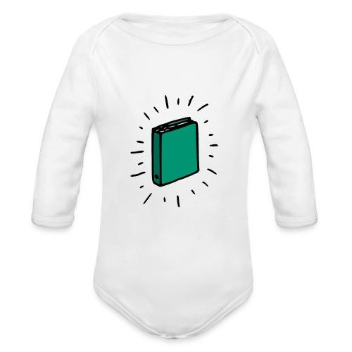 Book - Organic Long Sleeve Baby Bodysuit