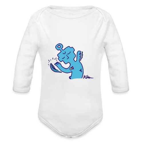 Solace Entity - Organic Long Sleeve Baby Bodysuit