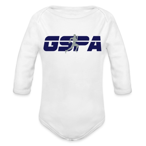 new gspa logo - Organic Long Sleeve Baby Bodysuit