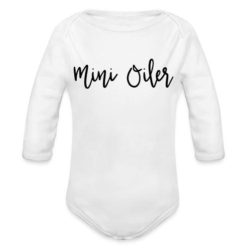 MiniOilerShirt - Organic Long Sleeve Baby Bodysuit