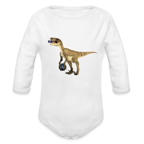 amraptor - Organic Long Sleeve Baby Bodysuit