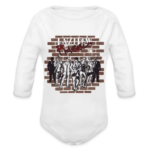 East Row Rabble - Organic Long Sleeve Baby Bodysuit