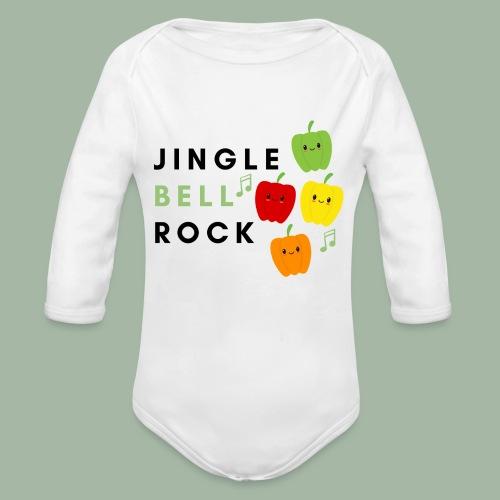 Jingle Bell Rock - Organic Long Sleeve Baby Bodysuit