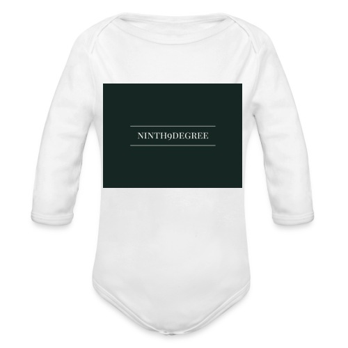 ninth9degree - Organic Long Sleeve Baby Bodysuit