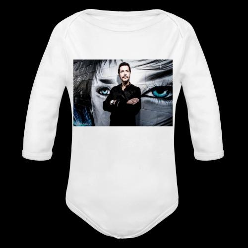 The Wall - Organic Long Sleeve Baby Bodysuit