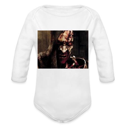 Zomby stranger - Organic Long Sleeve Baby Bodysuit