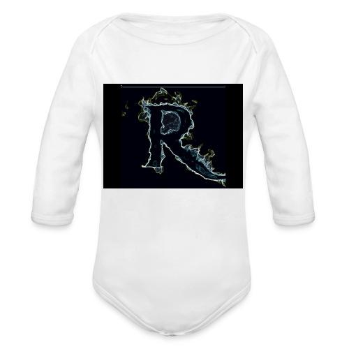 445 pin - Organic Long Sleeve Baby Bodysuit