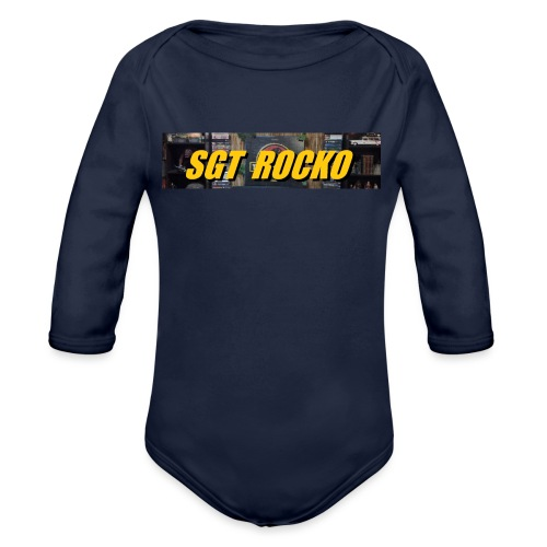 RockoWear Banner - Organic Long Sleeve Baby Bodysuit