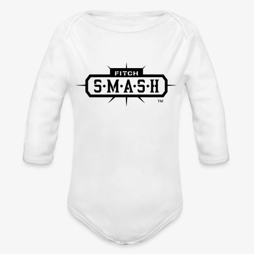 Fitch SMASH LLC. Official Trade Mark 2 - Organic Long Sleeve Baby Bodysuit